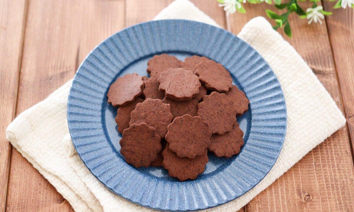 おからパウダー クッキー ココアパウダー 卵なし 小麦粉なし バターなし ダイエット 糖質オフ おからクッキー