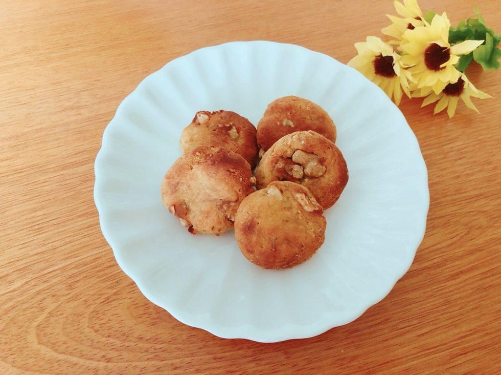 バナナ 大豆粉 クッキー レシピ 卵なし バターなし