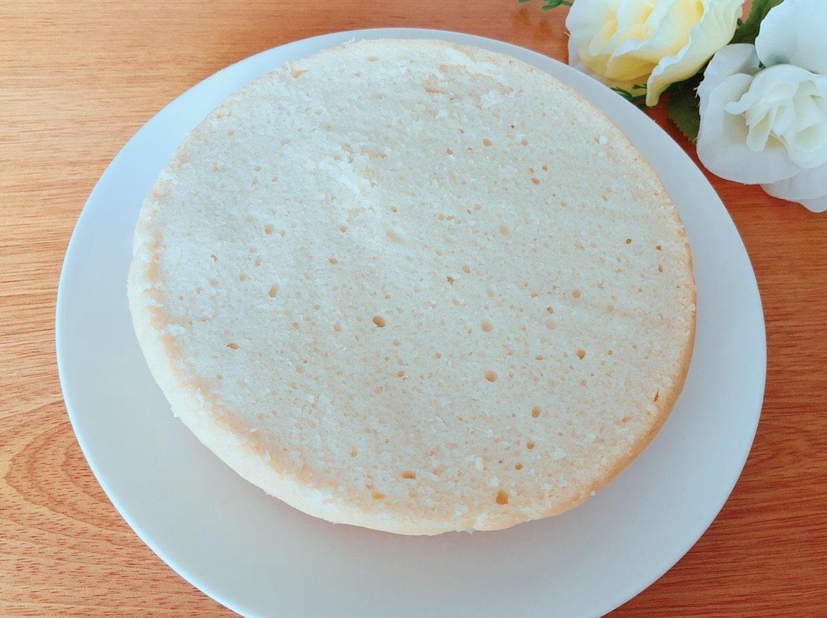 炊飯器で簡単♪米粉スポンジケーキレシピ 小麦粉・バター・牛乳・卵なし