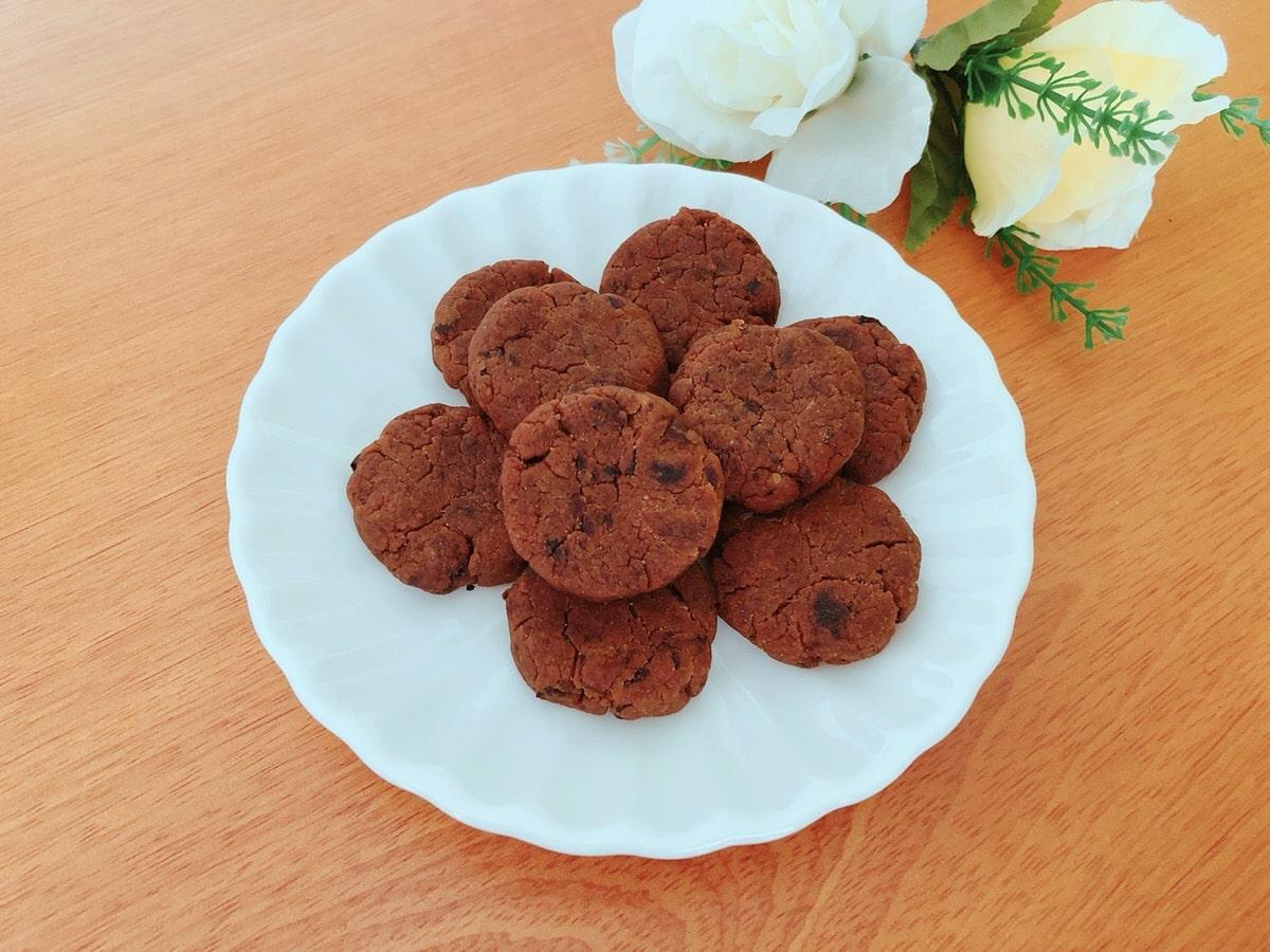 米粉きな粉プルーンクッキー♪卵・小麦粉・乳・砂糖不使用 幼児食レシピ