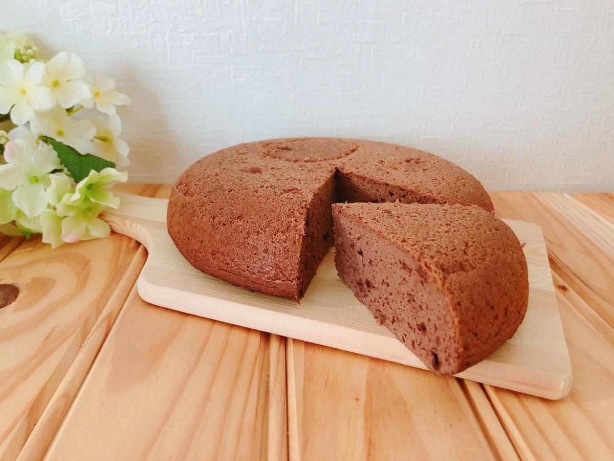 簡単炊飯器ココアおからケーキ♪油・バター・小麦粉なし!おからレシピ