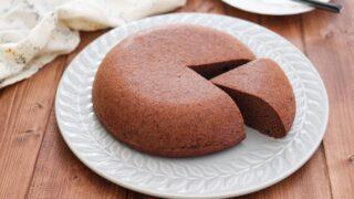 炊飯器ケーキ おからパウダー おからケーキ 小麦粉なし バターなし レシピ ココア 糖質オフ 糖質制限 ダイエット