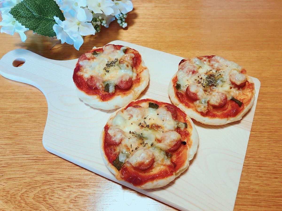 米粉 ピザ 豆腐 幼児食 ノンオイル チーズなし 簡単 レシピ ピザパン