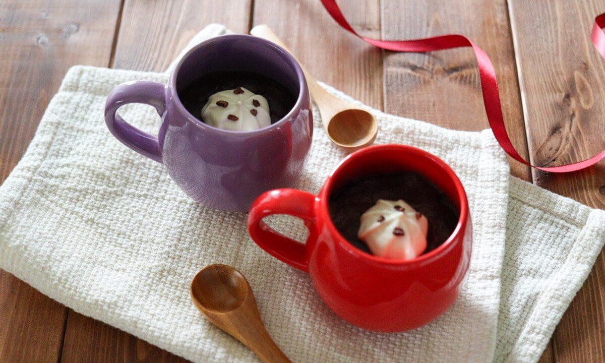 ココアプリン 米粉プリン 豆乳プリン 卵なし ゼラチンなし バレンタイン レシピ