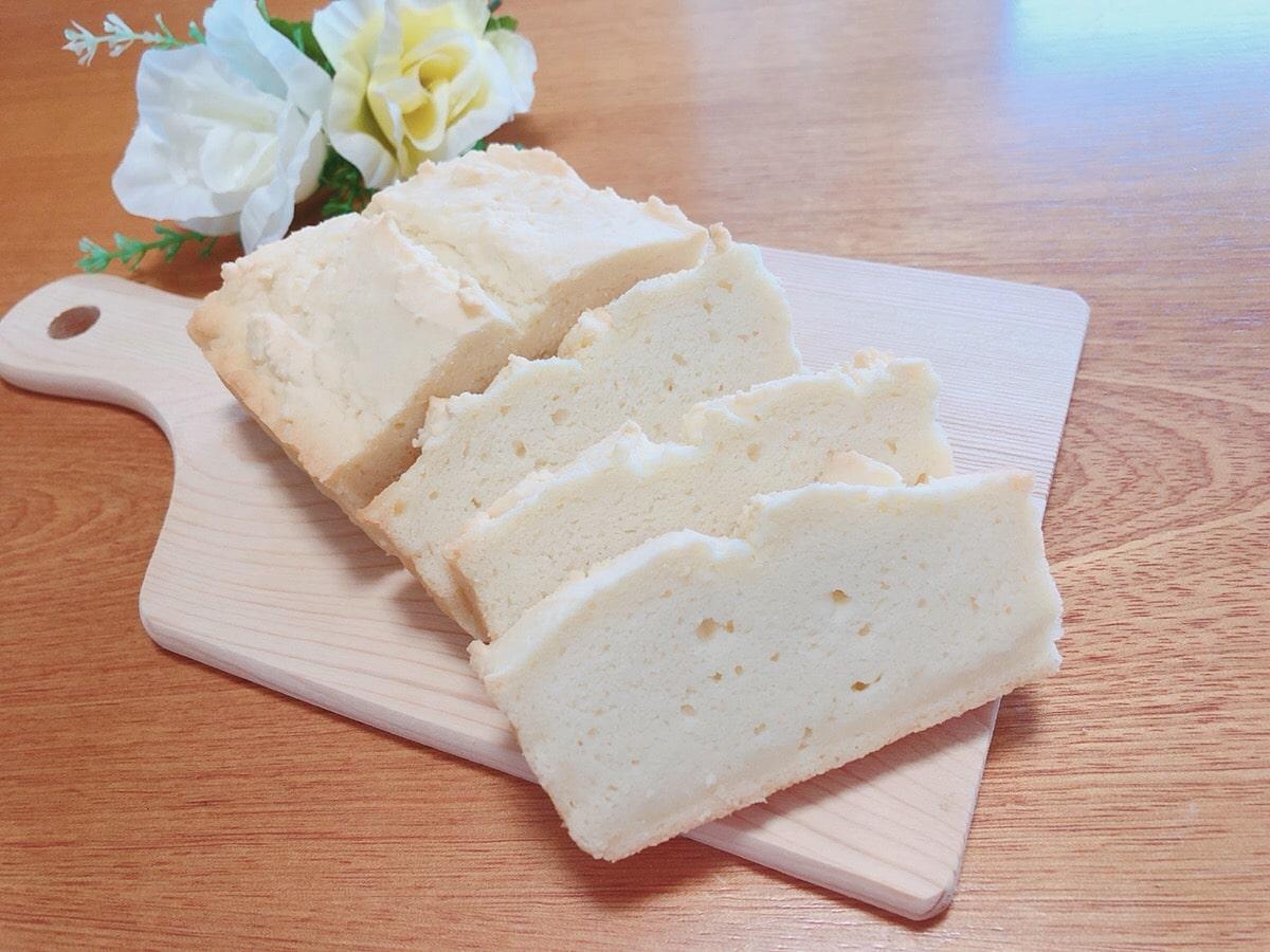 米粉のパウンドケーキ♪小麦粉・乳製品・卵不使用 おからパウダーでしっとり♪k米粉パウンドケーキ