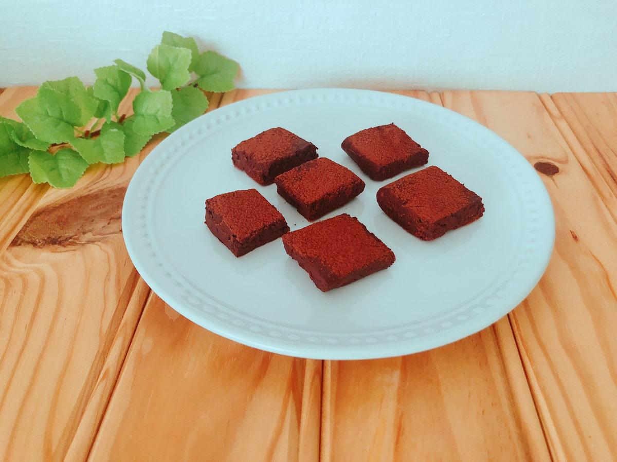 簡単生チョコレシピ♪チョコレートなし!生クリームなし!バレンタインにも♪豆腐スイーツ