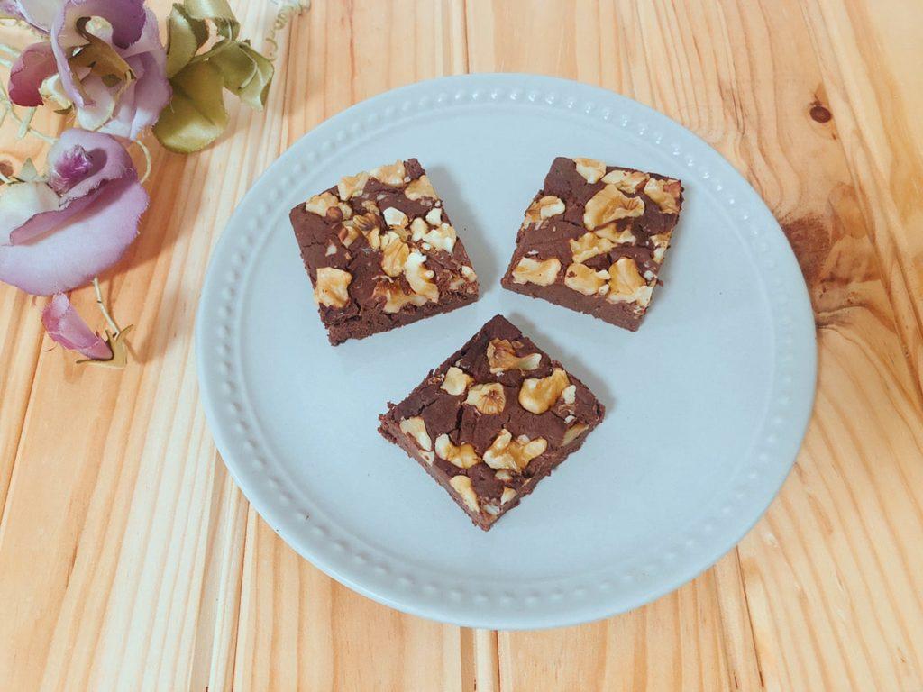 おからブラウニー 豆腐ブラウニー ベーキングパウダーなし 卵なし チョコレートなし ココアパウダー