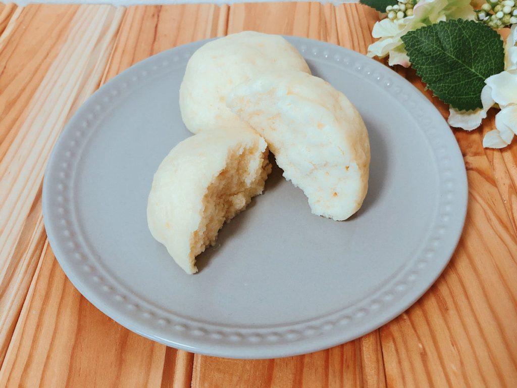 米粉パンレシピ♪電子レンジで簡単!油なし卵なし小麦粉なしベーキングパウダー使用!