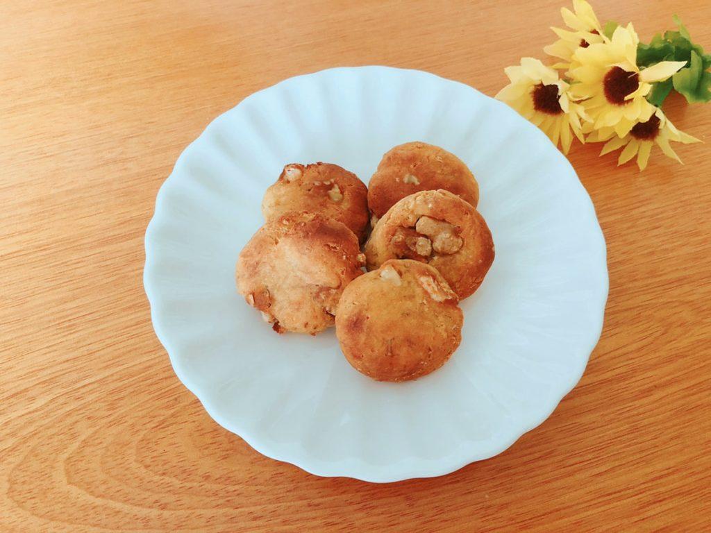 バナナ大豆粉クッキーレシピ♪砂糖・小麦粉・油・乳・卵なし 大豆粉レシピ