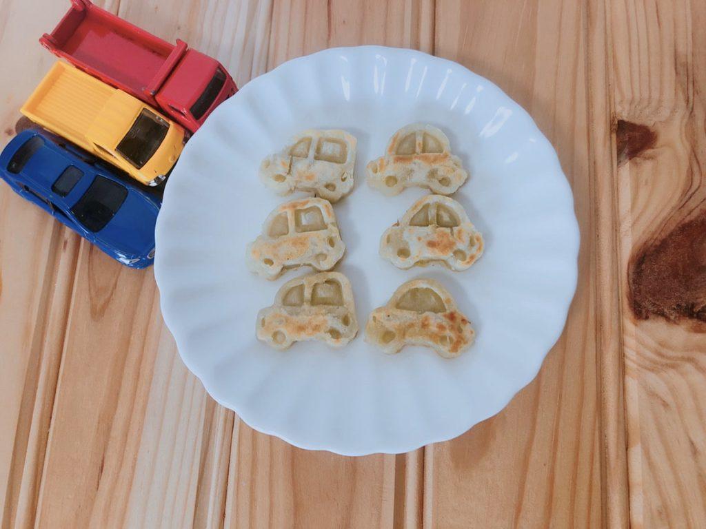 さつまいもハッシュドポテトレシピ 幼児食レシピ