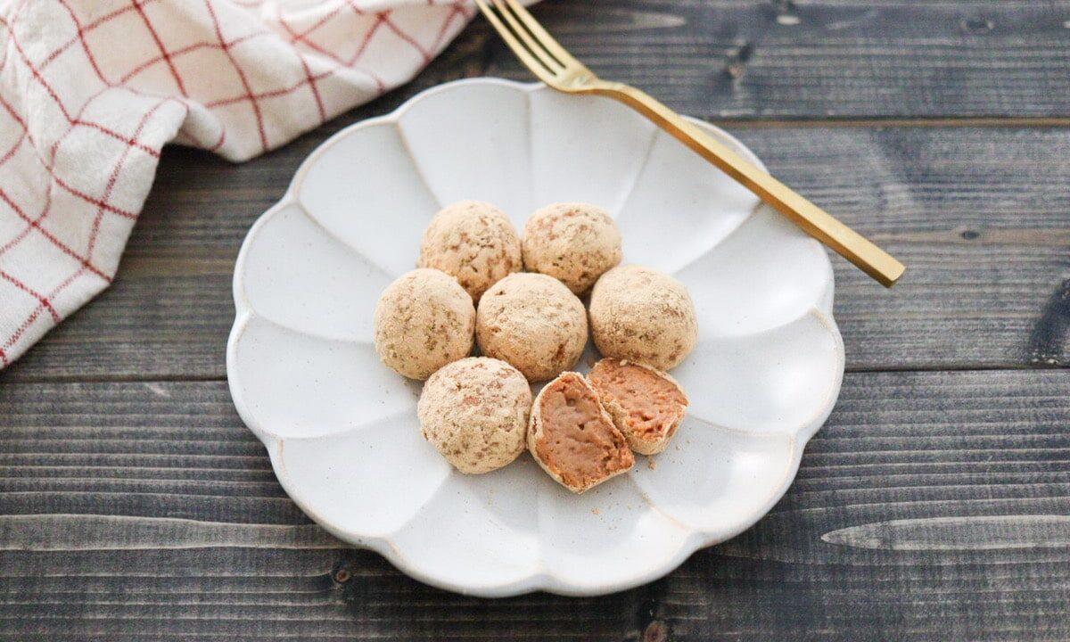 豆腐 トリュフ きな粉 レシピ チョコレートなし 生クリームなし