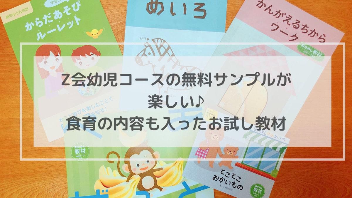 Z会 口コミ 幼児教育