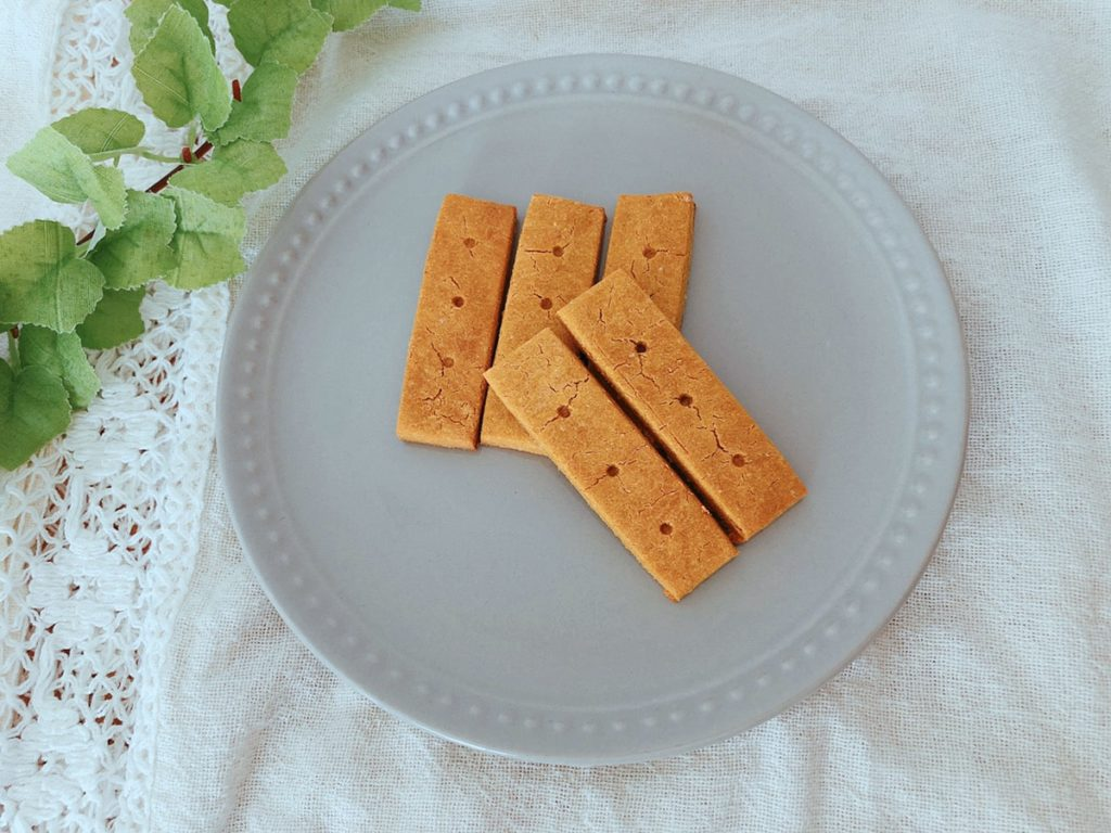 かぼちゃ クッキー きな粉 幼児食 離乳食 おやつ レシピ ノンオイル