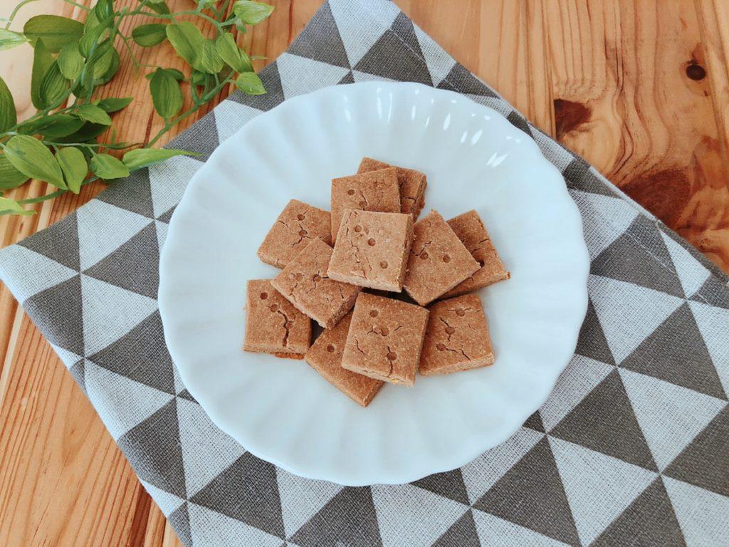 あんこクッキー きな粉クッキー あんこ消費 大量消費 卵なし 小麦粉なし 油なし 砂糖なし 簡単 レシピ