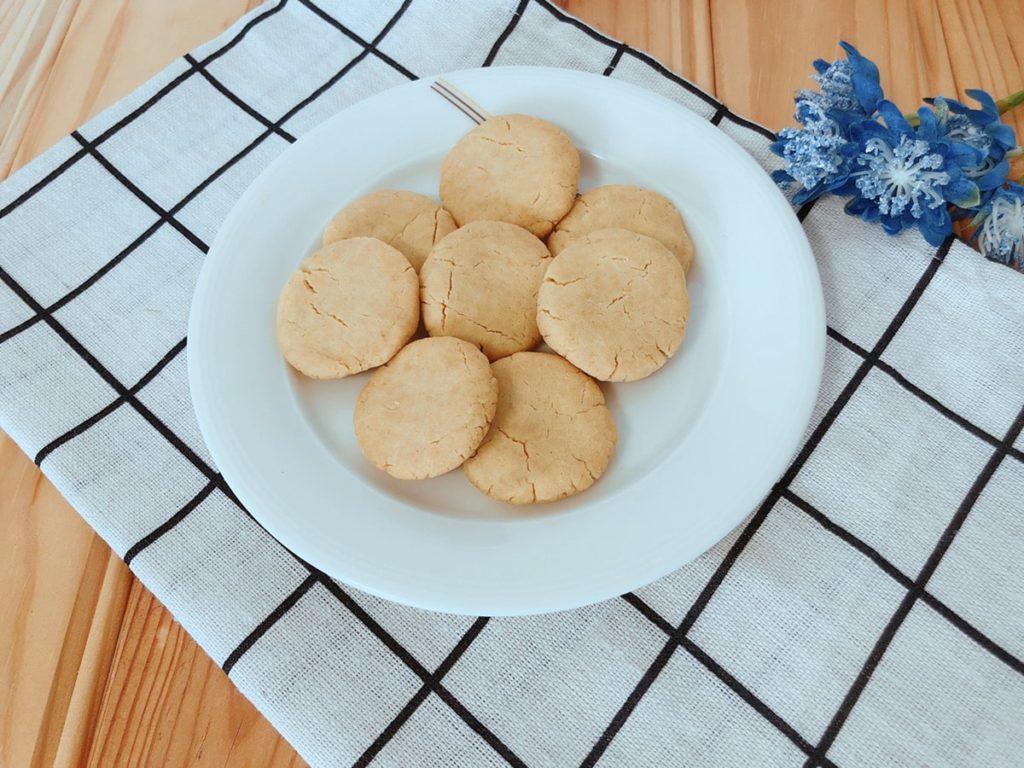 きな粉おからクッキー レシピ 小麦粉なし 卵なし バターなし おからパウダー ダイエット