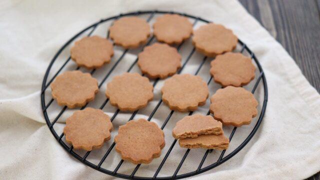 きな粉 米粉クッキー 卵なし 小麦粉なし バターなし レシピ