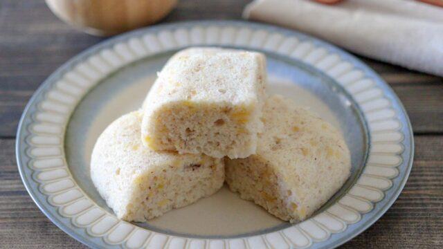 米粉 蒸しパン 電子レンジ 簡単 卵なし 油なし 砂糖なし