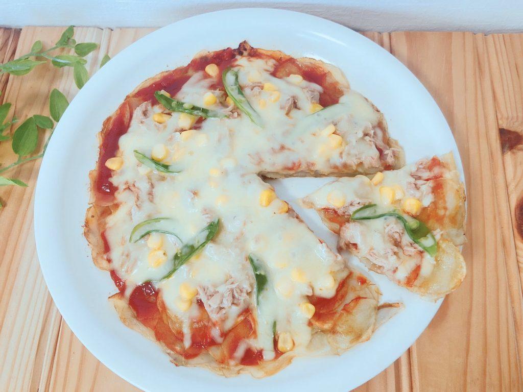 簡単 フライパン じゃがいもピザ レシピ ケチャップ じゃがいもレシピ 新じゃがいも