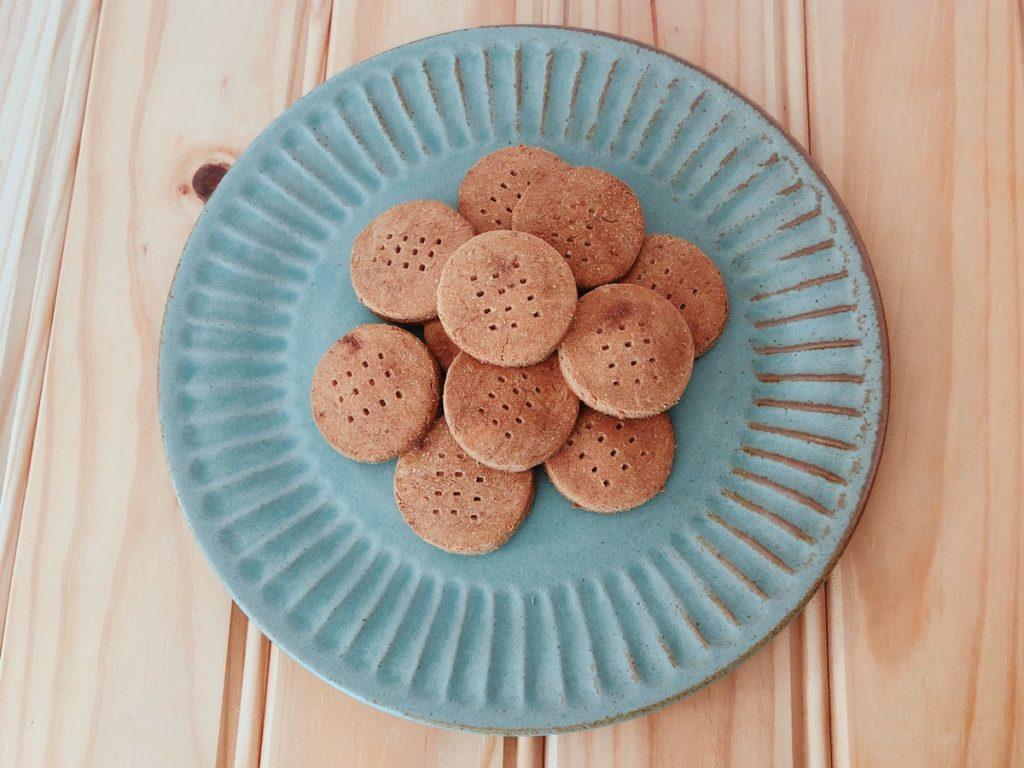 バナナ おからクッキー レシピ おからパウダー ダイエット 油なし バターなし 小麦粉なし 卵なし