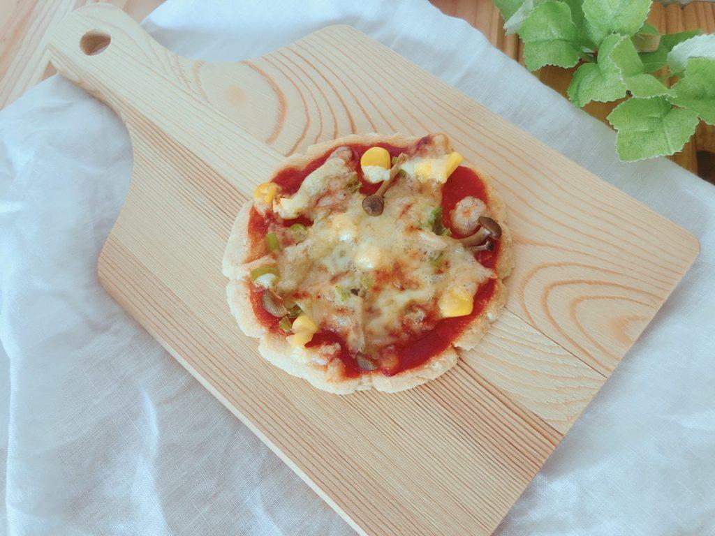 おからピザ 生おから 小麦粉なし 卵なし ベーキングパウダーなし イーストなし 簡単 レシピ