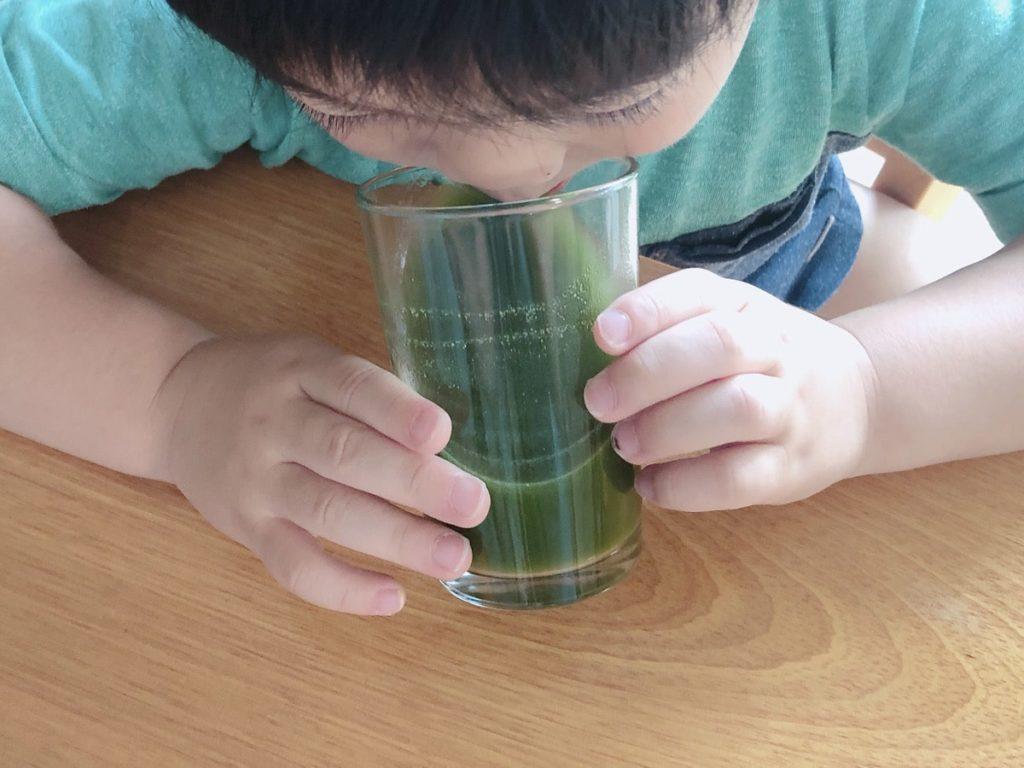 ドクターベジフル青汁 子ども 何歳から 赤ちゃん