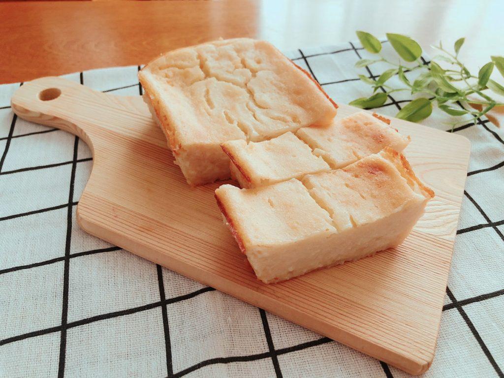 豆腐ケーキ 甘酒ケーキ 砂糖なし 油なし 卵なし チーズなし チーズケーキ レシピ