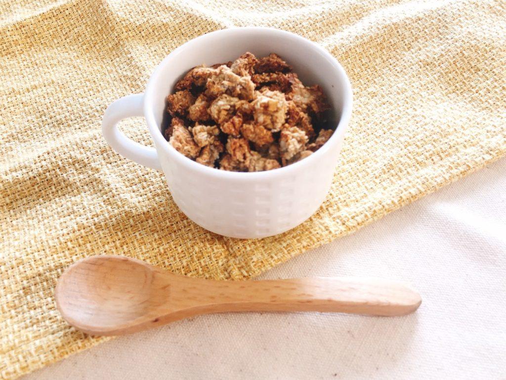 オートミールレシピ 小麦粉なし 手作りグラノーラ 油なし 小麦粉なし