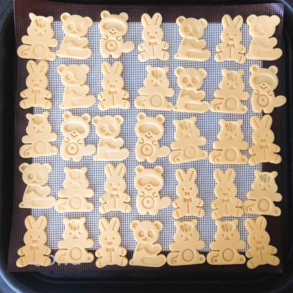 cotta スタンプ クッキー型 口コミ 森の仲間たち