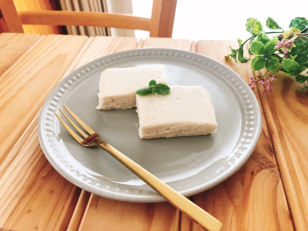 おからヨーグルト アイス ケーキ レシピ 豆乳ヨーグルト
