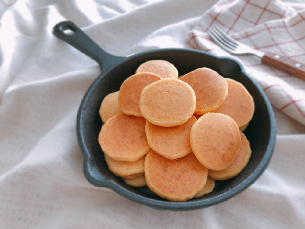 ミニパンケーキ シリアルパンケーキ かわいい おしゃれ パンケーキ