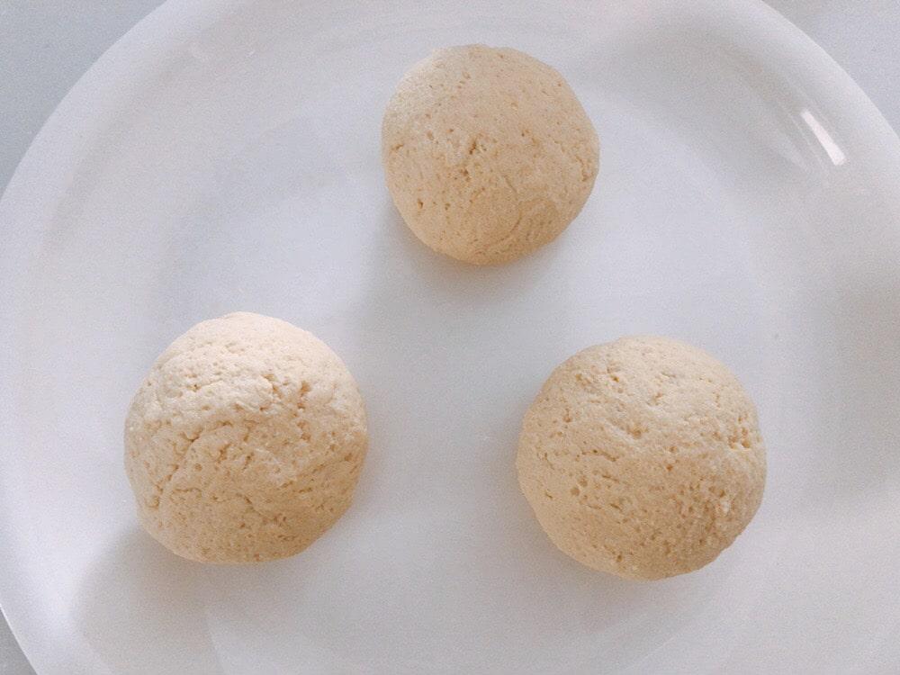 大豆粉パン ベーキングパウダー