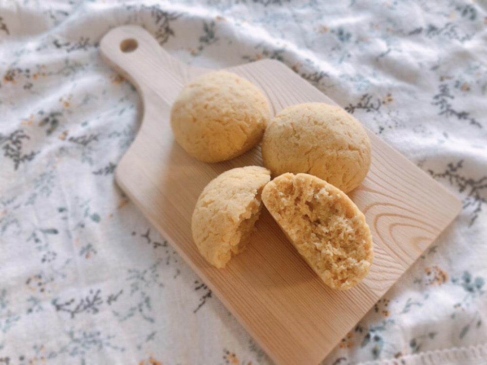 大豆粉パン レシピ 簡単 低糖質 卵なし 小麦粉なし ノンオイル