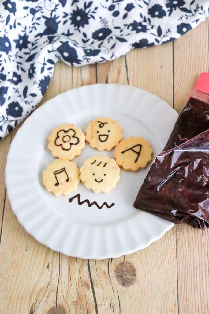 手作り チョコペン 作り方 ココアパウダー 簡単 チョコレートなし コルネなし