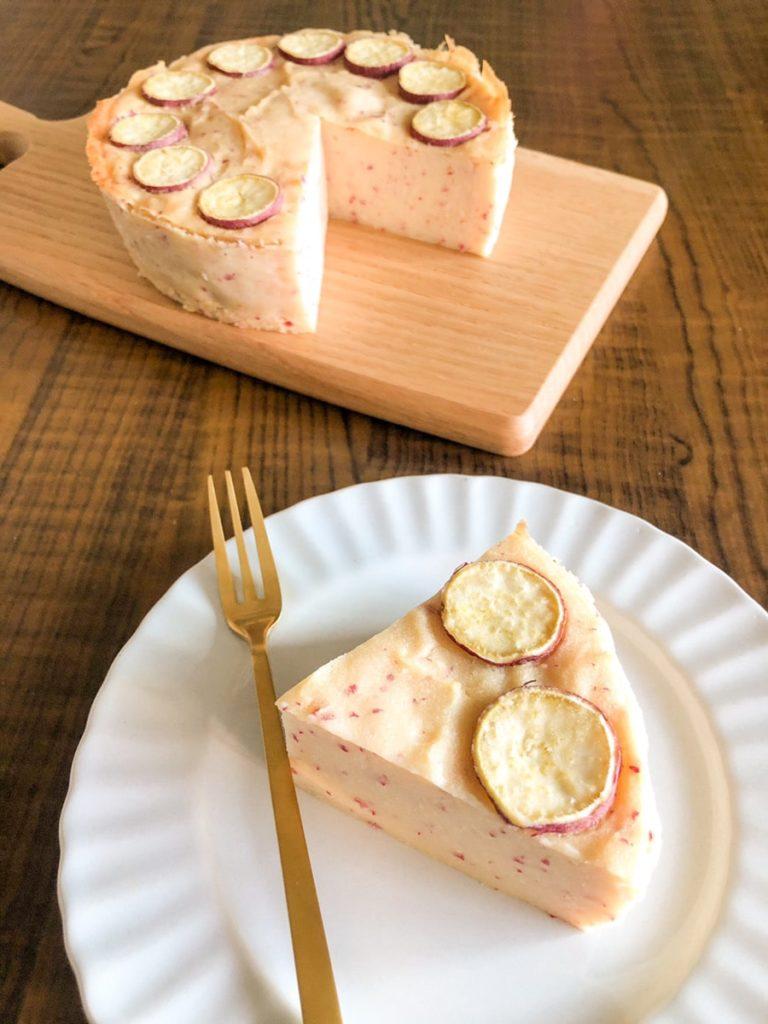 さつまいも ヨーグルト ケーキ 米粉 卵なし バターなし 油なし 簡単