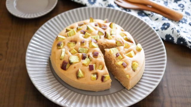 きな粉 黒糖 蒸しケーキ 蒸しパン 鍋 簡単