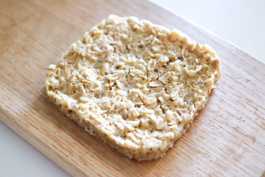 オートミール食パン ノンオイル 卵なし 小麦粉なし イーストなし