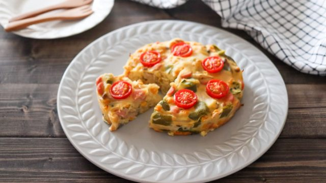 キッシュ 卵なし パイ生地なし 簡単 バターなし チーズなし