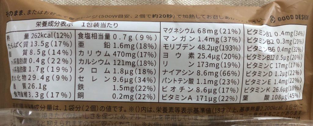 ベースブレッド 栄養価 カロリー 糖質 脂質 ダイエット