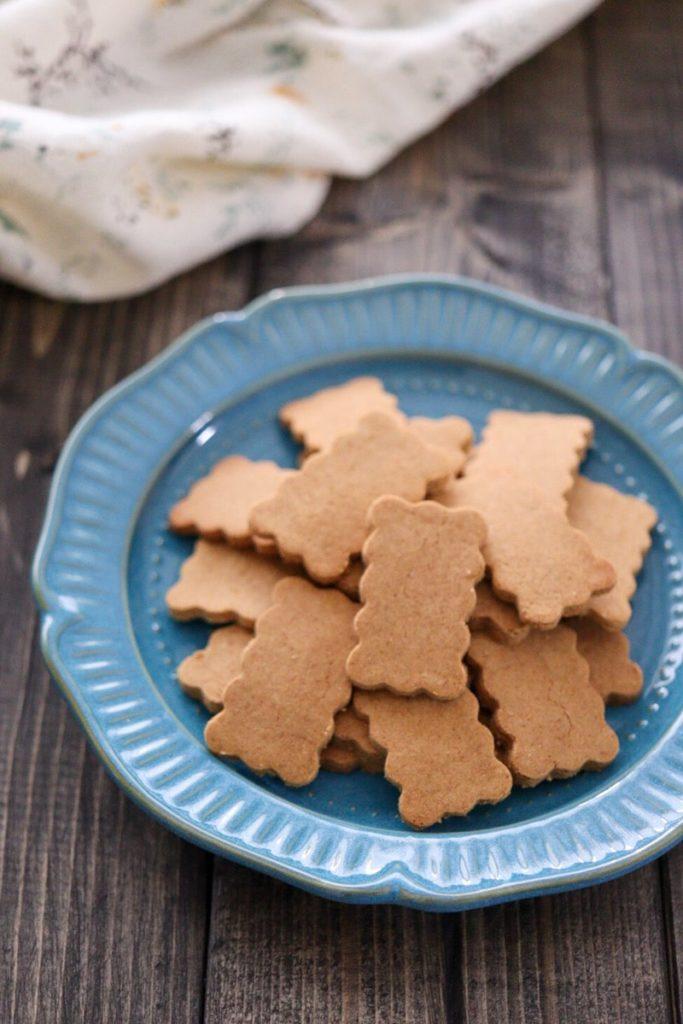 きな粉クッキー 卵なし 油なし バターなし ノンオイル レシピ