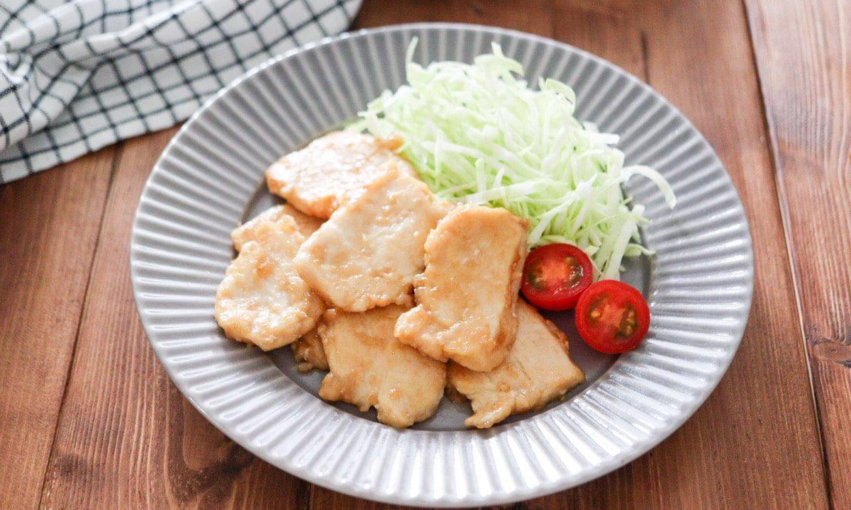 鶏胸肉 生姜焼き 鶏肉 レシピ 簡単