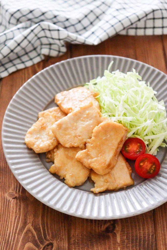 鶏胸肉 生姜焼き レシピ 柔らか 簡単