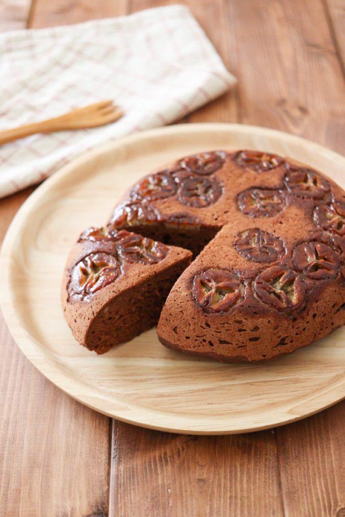 ココア バナナ 炊飯器 ケーキ 米粉 卵なし カカオパウダー ココアパウダー レシピ