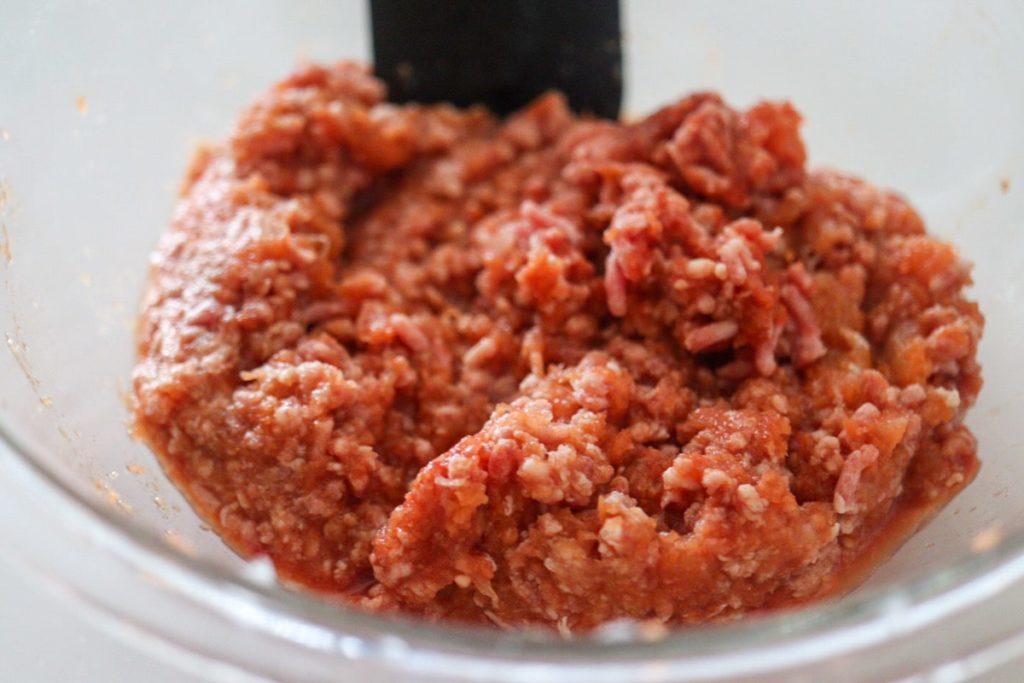 ミートソース ケチャップ トマト缶なし 電子レンジ 簡単 レシピ