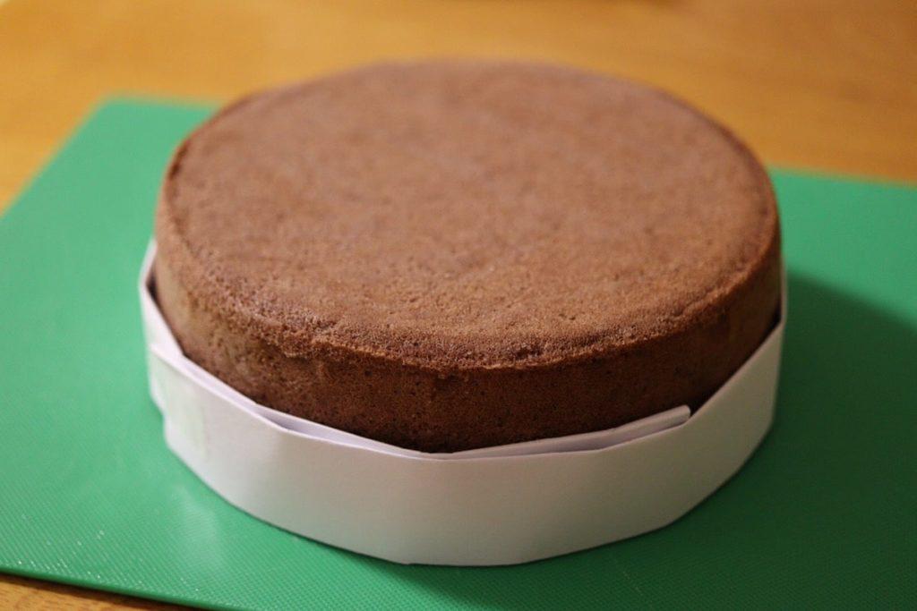 米粉 スポンジケーキ デコレーション 生クリームなし