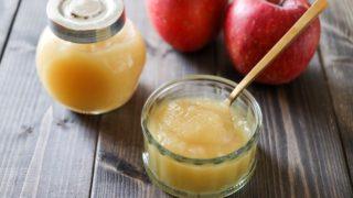 りんごジャム 砂糖なし 子ども 簡単
