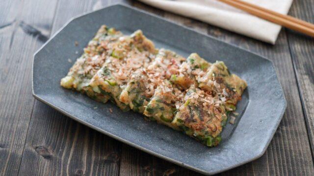 豆腐 ねぎ焼き 簡単 卵なし 小麦粉なし レシピ 子ども 豆腐レシピ