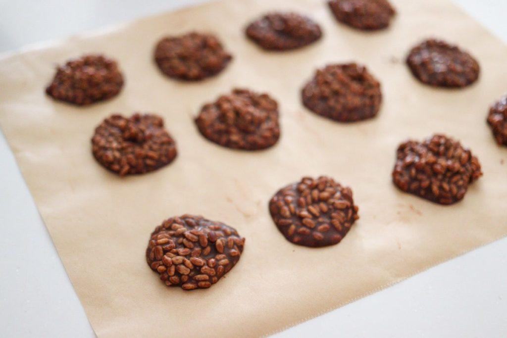 アレルゲンフリー チョコレート レシピ チョコクランチ