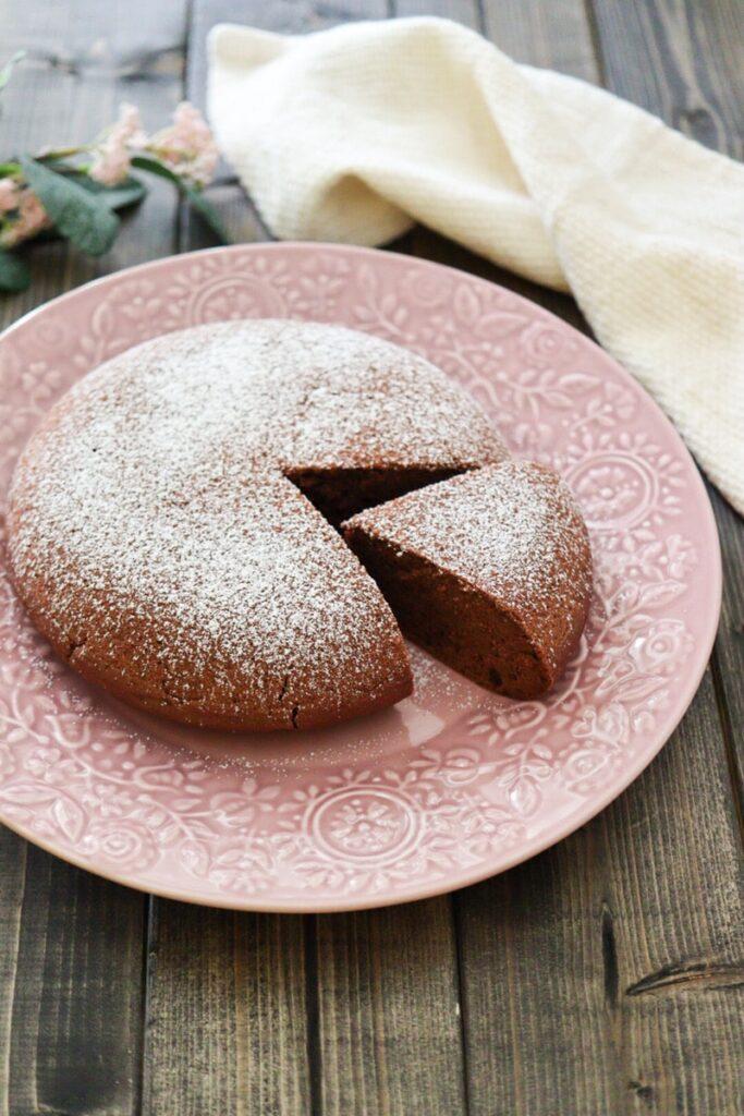 米粉 炊飯器ケーキ 卵なし バターなし ココアパウダー チョコレートケーキ レシピ