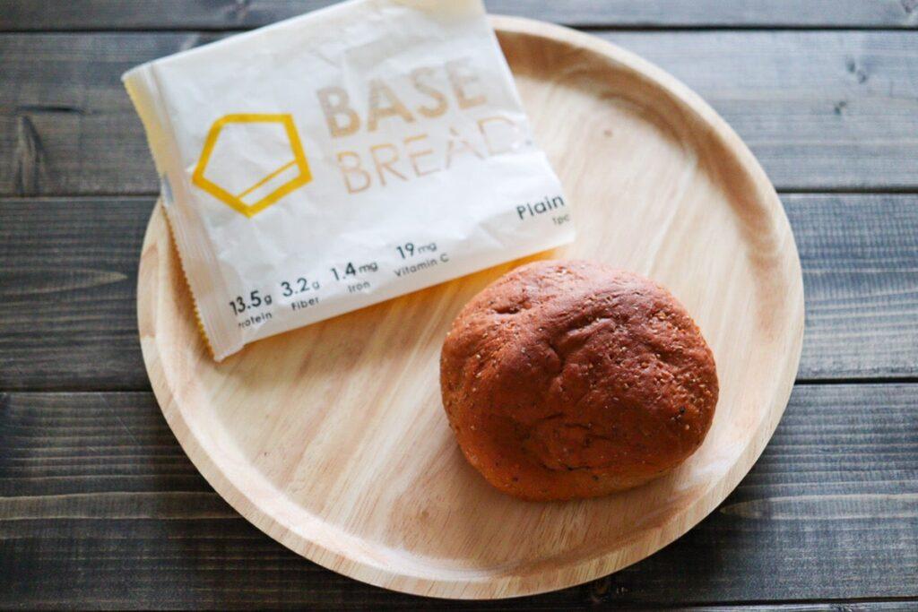 ベースブレッド プレーン ベースフード パン 口コミ 味 美味しい