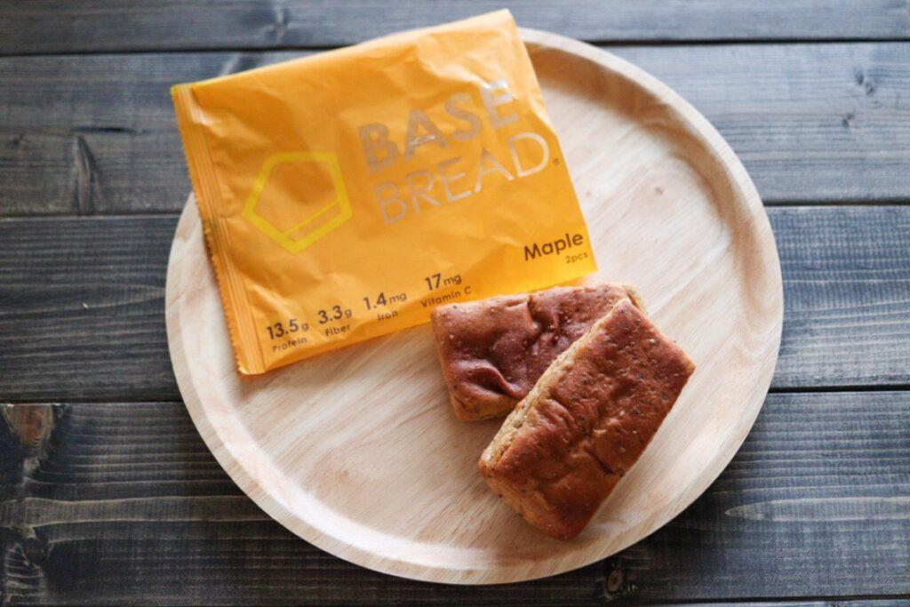 ベースブレッド メープル ベースフード パン 口コミ 味